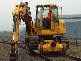 Díky Rail-Ability Ltd na kolejích