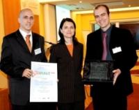 Ministrině informatiky Dana Bérová a vítězové kategorie Komerční GIS