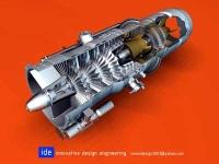 Model vytvorený v Alibre Design Professional a rendrovaný s Alibre PhotoRender spoločnosťou Innovative Design Engineering.
