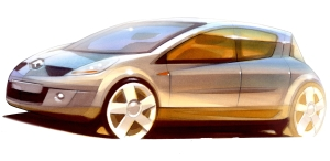 Koncept vozu Renault Clio III